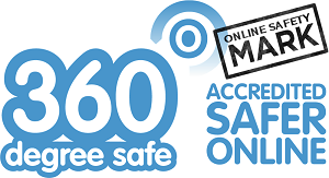 360 degree online safety logo